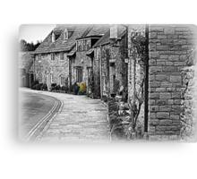 Corfe Cottages Canvas Print