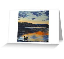 Sunset on Windermere Greeting Card
