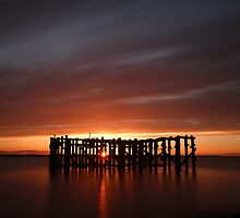 Pilot Pier (sunset) by PaulBradley