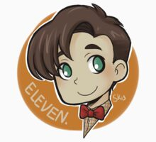 Circle Eleventh Doctor sticker by hellredsky