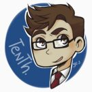 Circle Tenth Doctor sticker by hellredsky