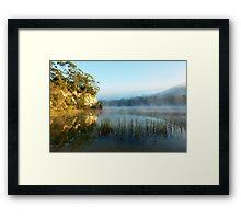 Blue Lake Tasmania Framed Print