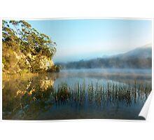 Blue Lake Tasmania Poster
