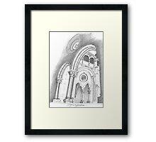 Mosteiro de Alcobaça. Framed Print
