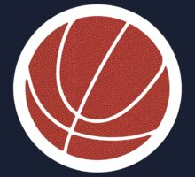 BasketBall Logo – White Texture by cpotter
