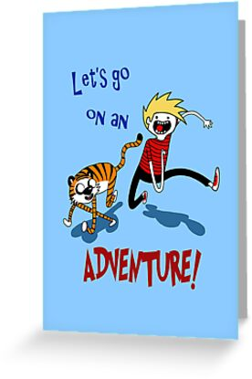 Adventure Time with Calvin and Hobbes by MsMayhem