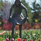 Garden Girl by Gene Praag