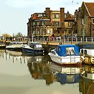 Blakeney Harbour Poster by Jackie  Forrest