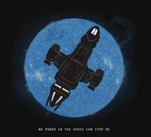No Power in the Verse - Epic Edition by geekchic  tees