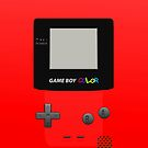 Gameboy Color Red by Vinizzz