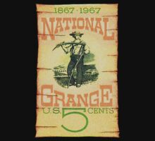 USA National Grange Postage Stamp by TravelShop