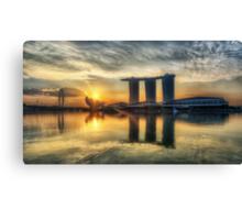 Saturday Sunrise - Marina Bay Sands Canvas Print