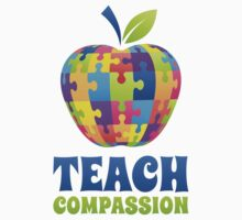 Teach Compassion (Autism Awareness) by BrightDesign