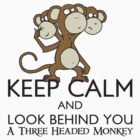 Keep Calm & Look Behind You - Monkey Island by RetroReview