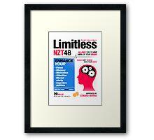 Limitless Pills - NZT 48 (2nd Version) Framed Print