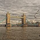 Sunset at Tower Bridge by Andrew Walker