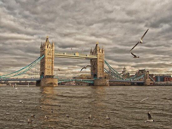 Sunset at Tower Bridge by Drew Walker