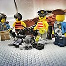 Pirate Practice: The riot gear finally arrived! by bricksailboat