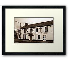 John O Gaunt Inn Hungerford England Framed Print