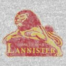 House Lannister Vintage logo by AReliableSource