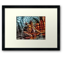 Mr Bubbles Please Get up Framed Print