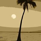 Hawaiian Palm Tree by FromHereOnIn