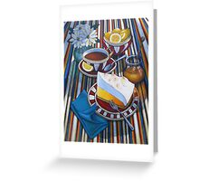 Lemon Meringue Greeting Card