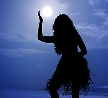 Hula Moon by Alex Preiss