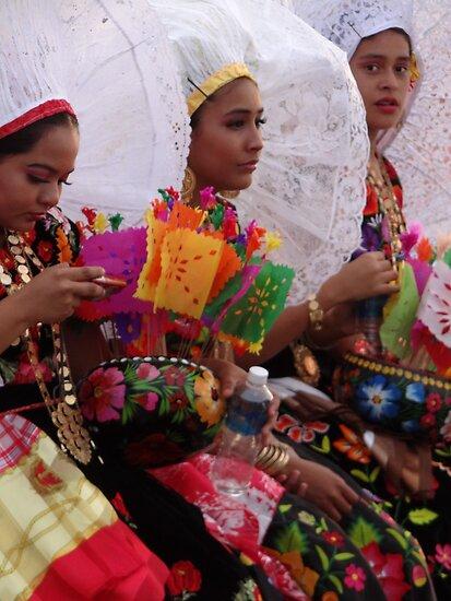 Beauties Of Oaxaca  II - Bellezas De Oaxaca by Bernhard Matejka