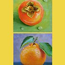 Persimmon And Clementine iCover by Tatiana Roulin