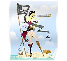 Pirate Girl Adventure ! Poster