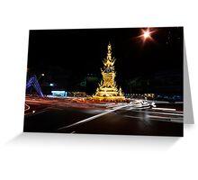Clock Tower, Chiang Rai Greeting Card
