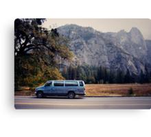 Yosemite vans Canvas Print