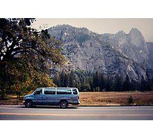 Yosemite vans Photographic Print