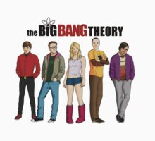 big bang theory by VirtualMan
