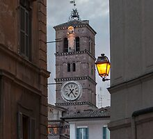 Dusk in Trastevere by Roberto Bettacchi