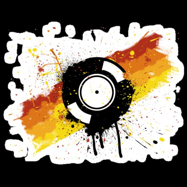 Vinyl Graffiti by HOTDJGEAR