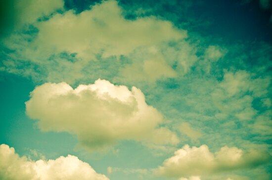 Cloud Study One by Olivia Joy StClaire