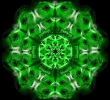 "Heart or Anahata Chakra, note ""F"" by Sarah Niebank"