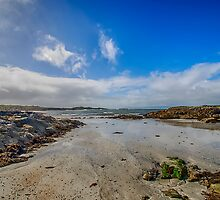 Portnadoran Beach by Chris Thaxter