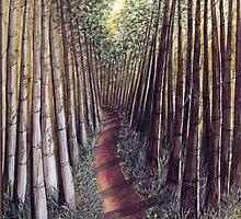 Allerthorpe forest trail by Yorkspalette