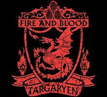 Targaryen - Fire and Blood by JohnnyMacK