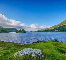 Loch Awe View by Chris Thaxter