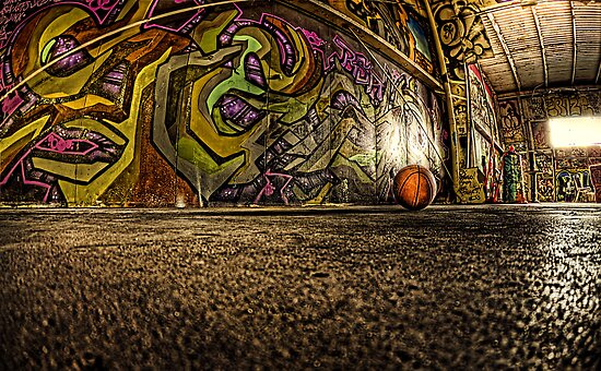 Graffiti B-Ball  by tiptoncreative