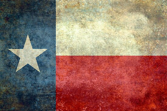 """The """"Lone Star Flag"""" of The Lone State Texas by Bruiserstang"""