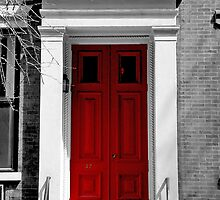 New York Red Door by IER STUDIO