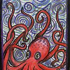 Octopus and Swirls by David Webb