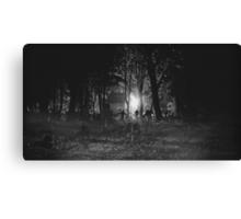 Zombie Night Canvas Print