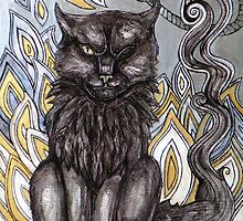 The Black Cat by Lynnette Shelley