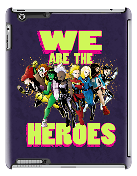 WE Are the Heroes  by pagebranson